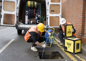 drain blockages identified by cctv drain surveys
